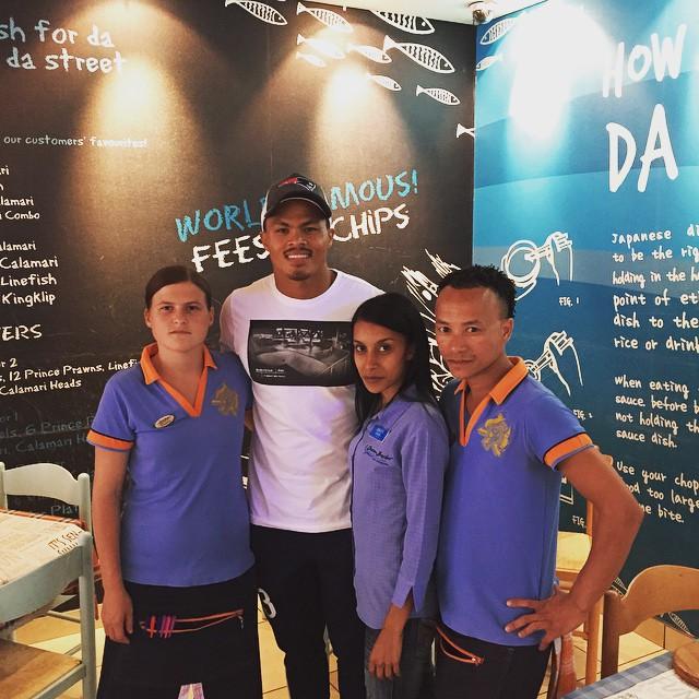 Springbok Juan de Jongh pays our partners a visit