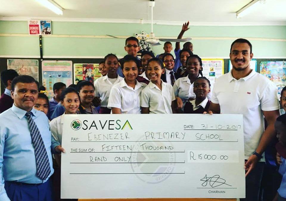 Stormers lock joins Team SaveSA as an ambassador